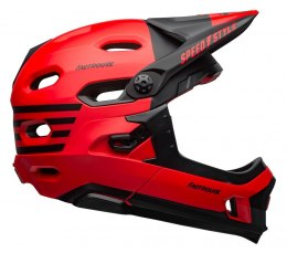 Kask full face BELL SUPER DH MIPS SPHERICAL fasthouse matte gloss red black roz. M (55-59 cm) (NEW)