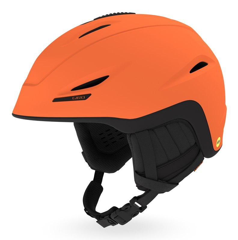 Kask zimowy GIRO UNION MIPS matte deep orange black roz. L (59-62.5 cm) (DWZ)