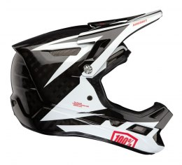Kask full face 100% AIRCRAFT CARBON MIPS Helmet Rapidbomb/White roz. L (59-60 cm) (DWZ)