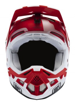 Kask full face 100% AIRCRAFT COMPOSITE Helmet Rapidbomb/Red roz. L (59-60 cm) (DWZ)