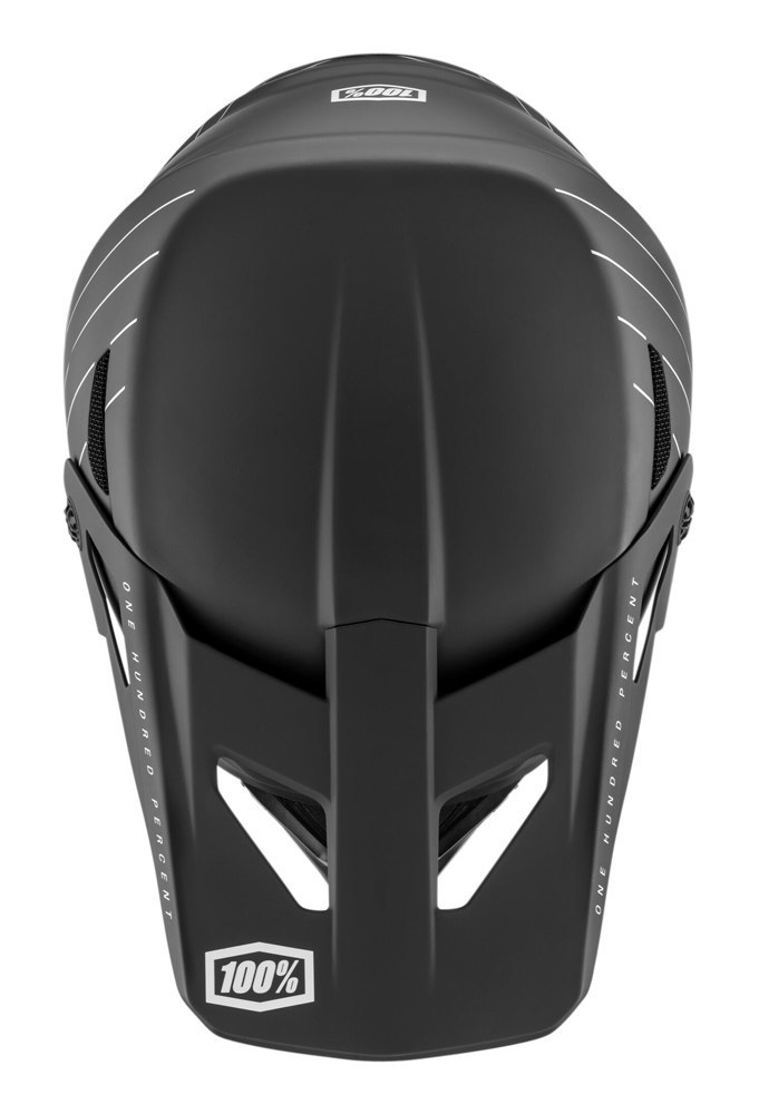 Kask full face 100% STATUS DH/BMX Helmet Essential Black roz. S (55-56 cm) (NEW)