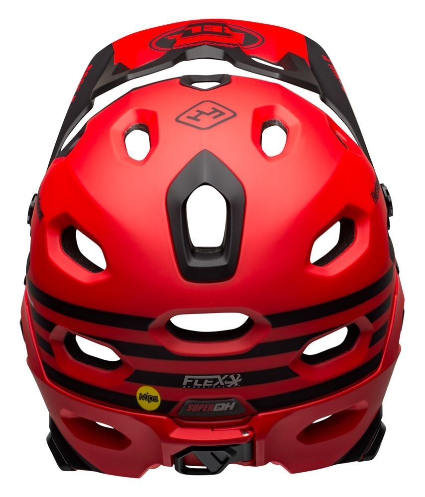 Kask full face BELL SUPER DH MIPS SPHERICAL fasthouse matte gloss red black roz. S (52-56 cm) (NEW)