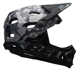 Kask full face BELL SUPER DH MIPS SPHERICAL matte gloss black camo roz. S (52-56 cm) (NEW)