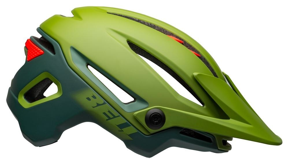 Kask mtb BELL SIXER INTEGRATED MIPS matte gloss green infrared roz. M (55-59 cm) (NEW)