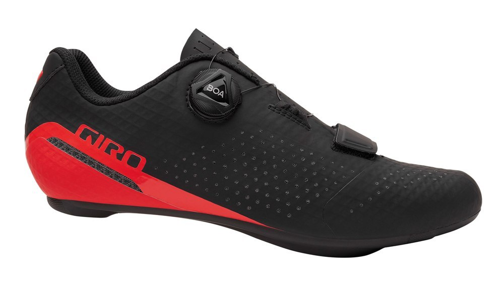 GIRO Buty męskie GIRO CADET black bright red roz.45 (NEW)