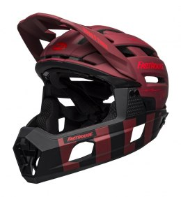 BELL Kask full face BELL SUPER AIR R MIPS SPHERICAL matte red black fasthouse roz. L (59-63 cm) (NEW)