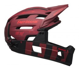 BELL Kask full face BELL SUPER AIR R MIPS SPHERICAL matte red black fasthouse roz. S (51-55 cm) (NEW)
