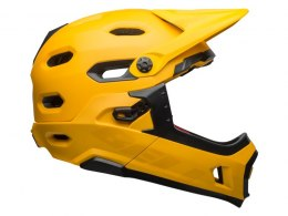 Kask full face BELL SUPER DH MIPS SPHERICAL matte gloss yellow black roz. S (52-56 cm) (DWZ)