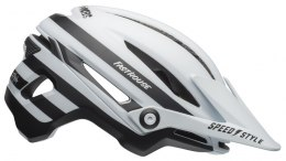 Kask mtb BELL SIXER INTEGRATED MIPS fasthouse stripes matte white black roz. L (58-62 cm) (NEW)