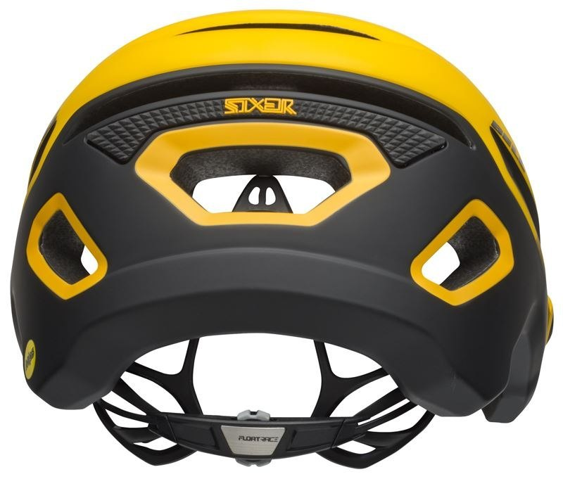 Kask mtb BELL SIXER INTEGRATED MIPS finishline matte yellow black roz. M (55-59 cm) (DWZ)